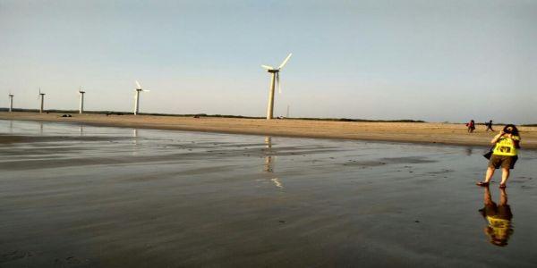 Ahmedpur Mandvi Beach -longest beach in India