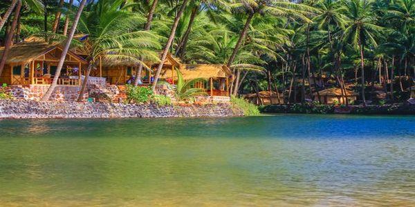 Blue Lagoon Cola Beach - Beach Huts in Goa
