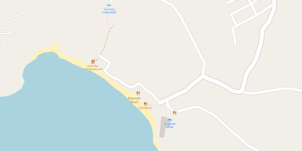 Bogmalo Beach Map - Goa