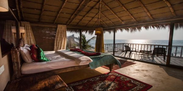 Dwarka Eco Beach Resort, Cola - Beach Huts in Goa
