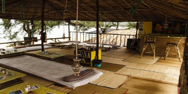 Lotus Oasis Yoga - Beach Huts in Goa