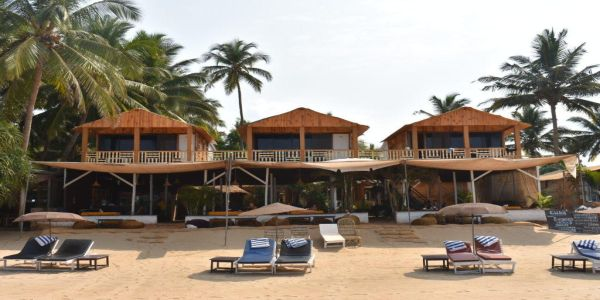 Tantra Cafe and Huts, Palolem - Beach Huts in Goa