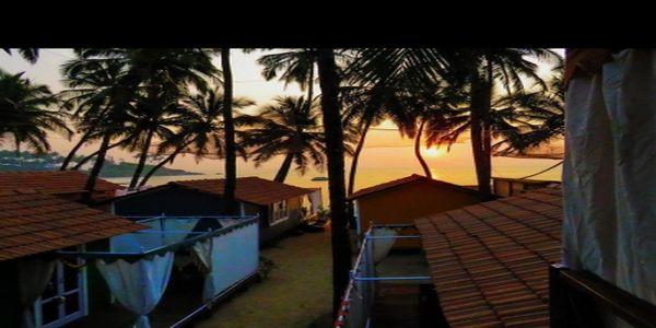 The Art Resort, Palolem - Beach Huts in Goa