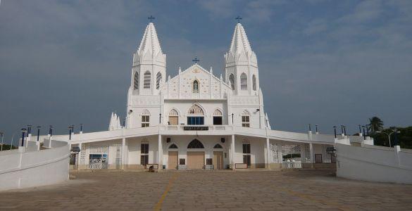 Basilica of Our Lady of Good Health - Velankanni