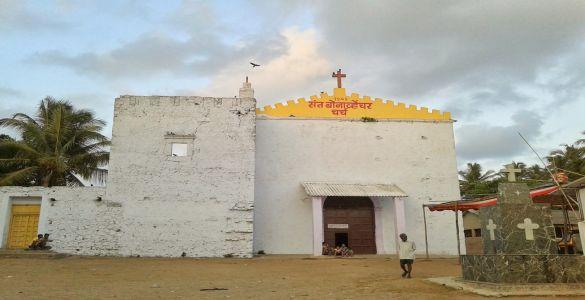 Church Of St. Bonaventure - Madh Island