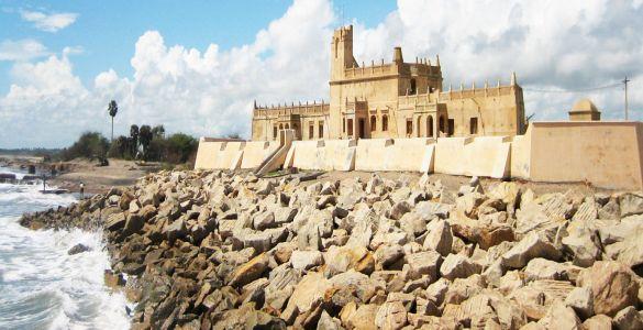 Danish Fort - Poompuhar