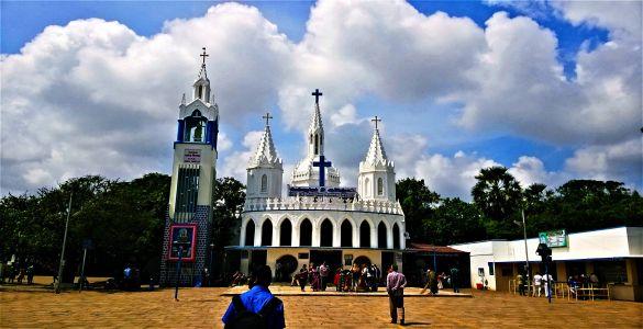 Holy Path and Lady's Tank Church - Velankanni