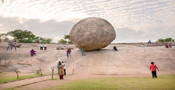 Krishna's Butter Ball - Mahabalipuram