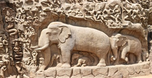 The descent of the Ganges - Mahabalipuram