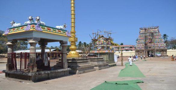 Swetharanyeswarar Temple - thiruvengadu