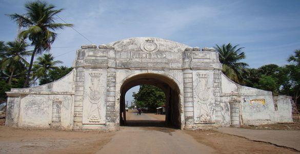 Town Gate - Tharangambadi