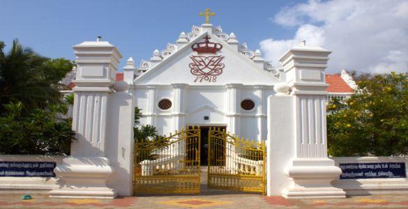 Zion Church - tranquebar