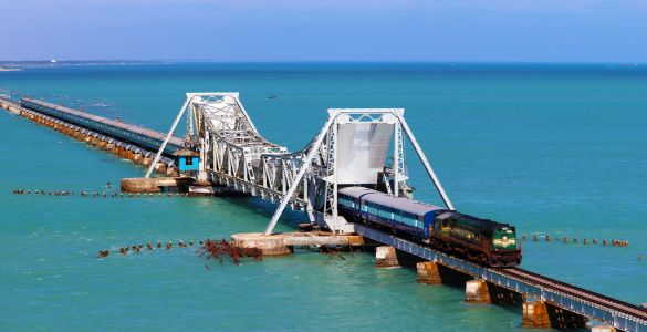 Pamban Bridge - Rameswaram