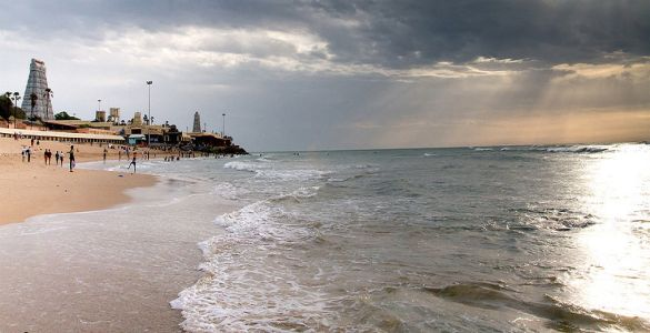 Thiruchendhur Beach